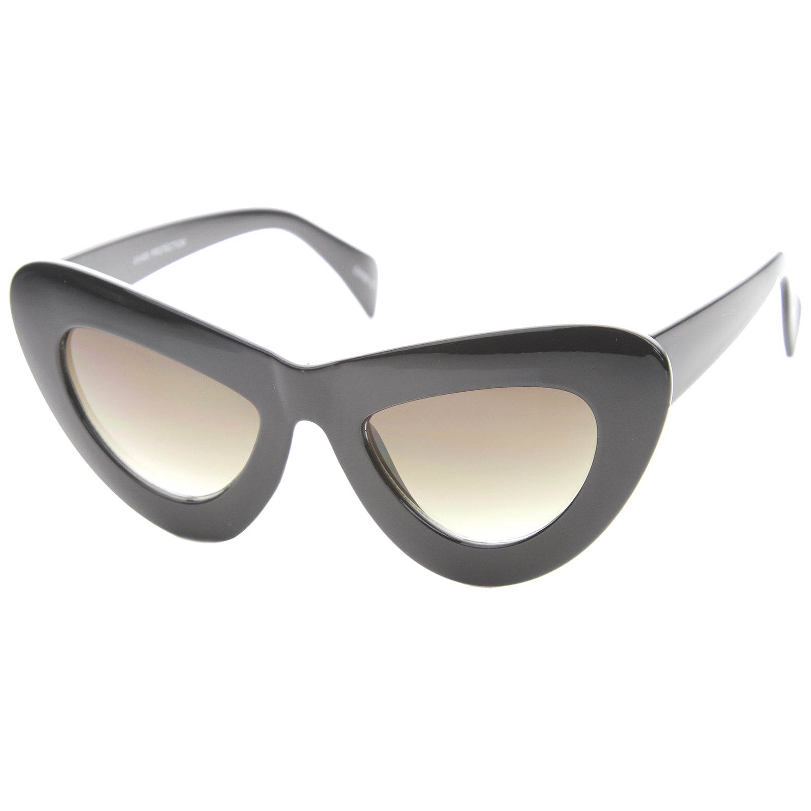 Womens Cat Eye Sunglasses With UV400 Protected Composite Lens - sunglass.la - 2