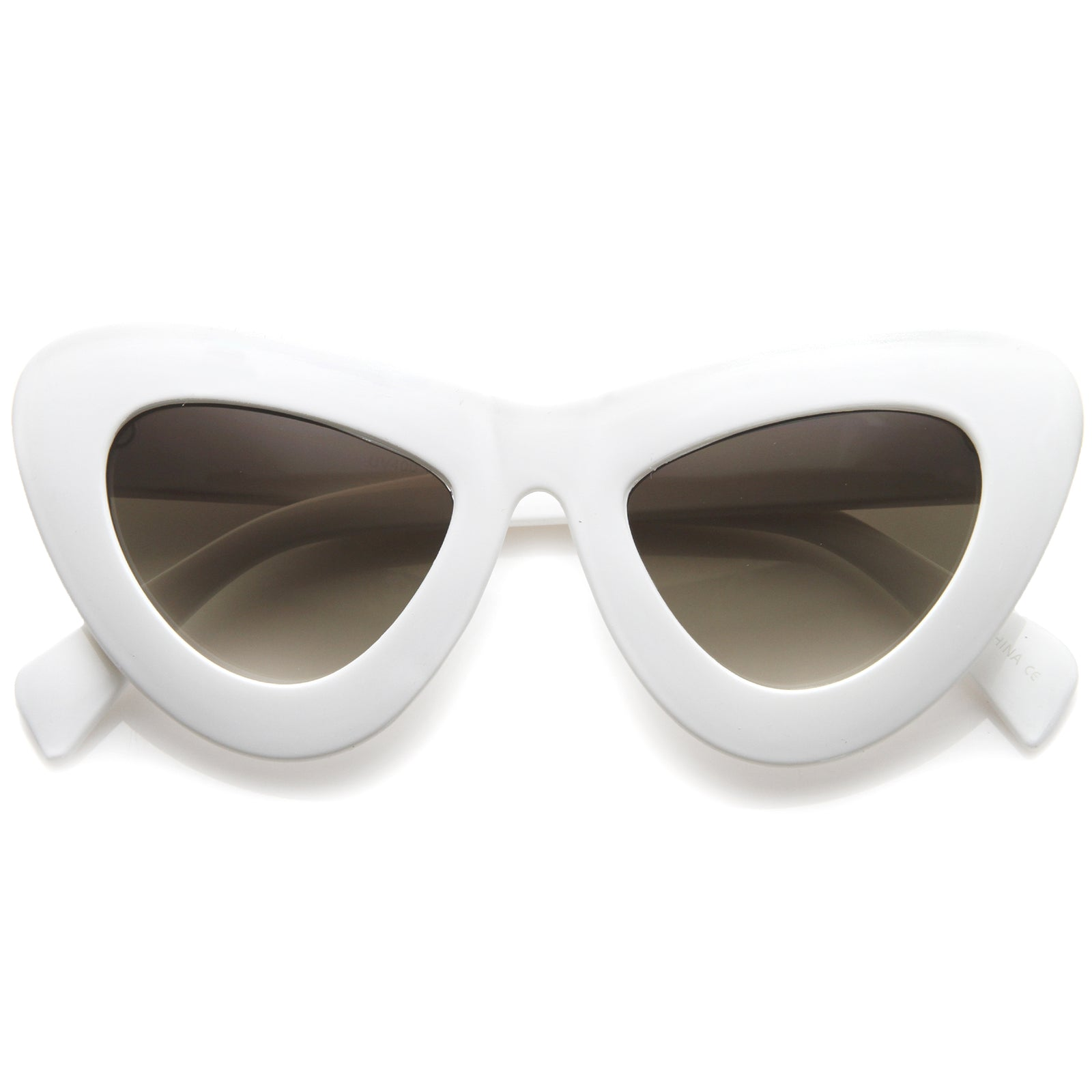 Womens Cat Eye Sunglasses With UV400 Protected Composite Lens - sunglass.la - 5