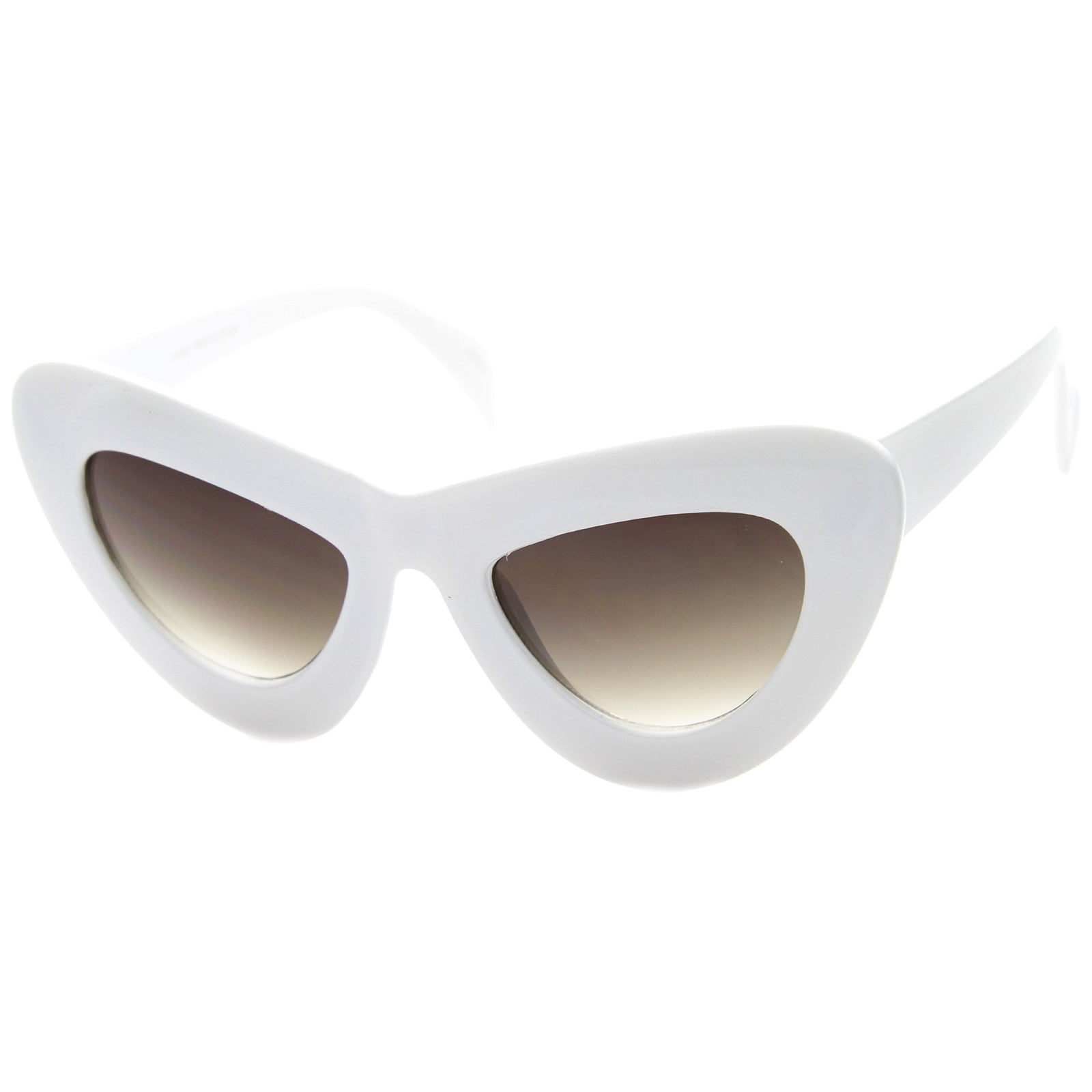 Womens Cat Eye Sunglasses With UV400 Protected Composite Lens - sunglass.la - 6