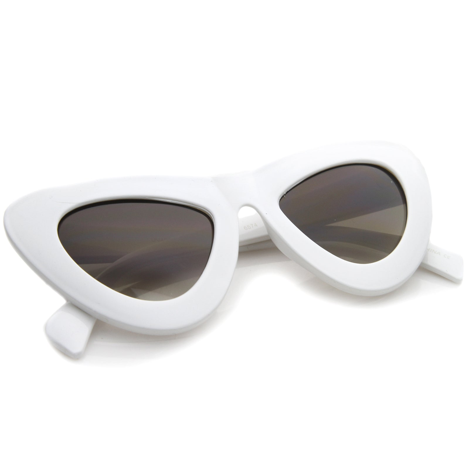Womens Cat Eye Sunglasses With UV400 Protected Composite Lens - sunglass.la - 8