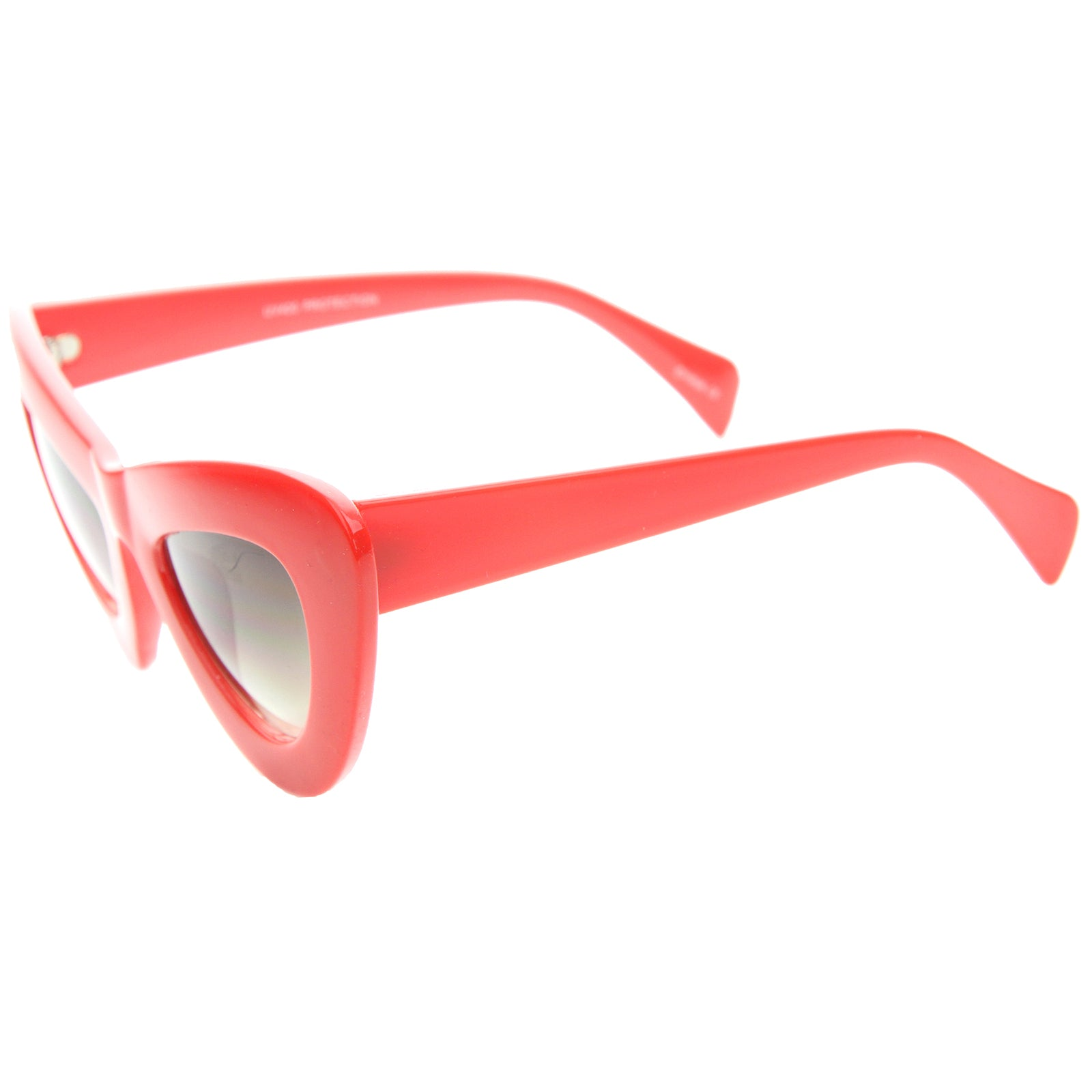 Womens Cat Eye Sunglasses With UV400 Protected Composite Lens - sunglass.la - 11