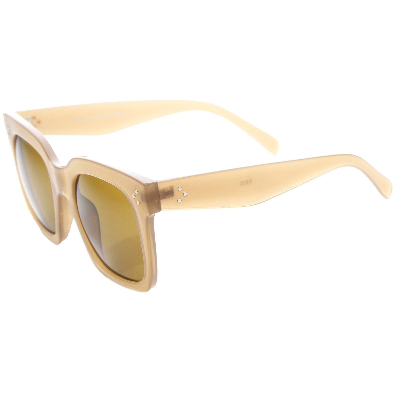 Womens Horn Rimmed Sunglasses With UV400 Protected Gradient Lens - sunglass.la - 15