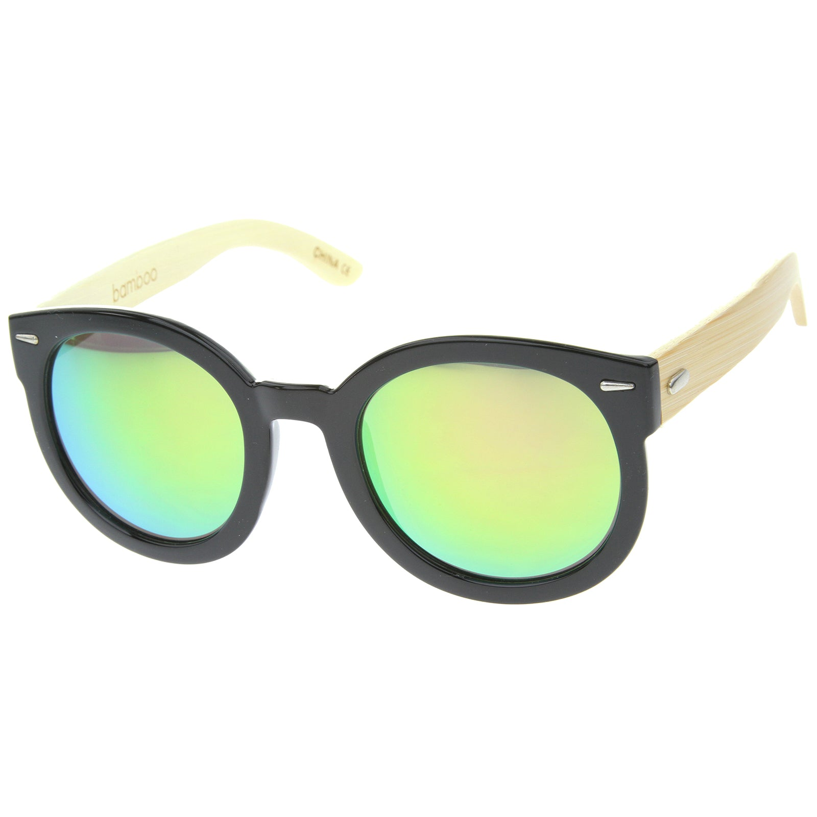 Womens Oversized Sunglasses With UV400 Protected Mirrored Lens - sunglass.la - 6