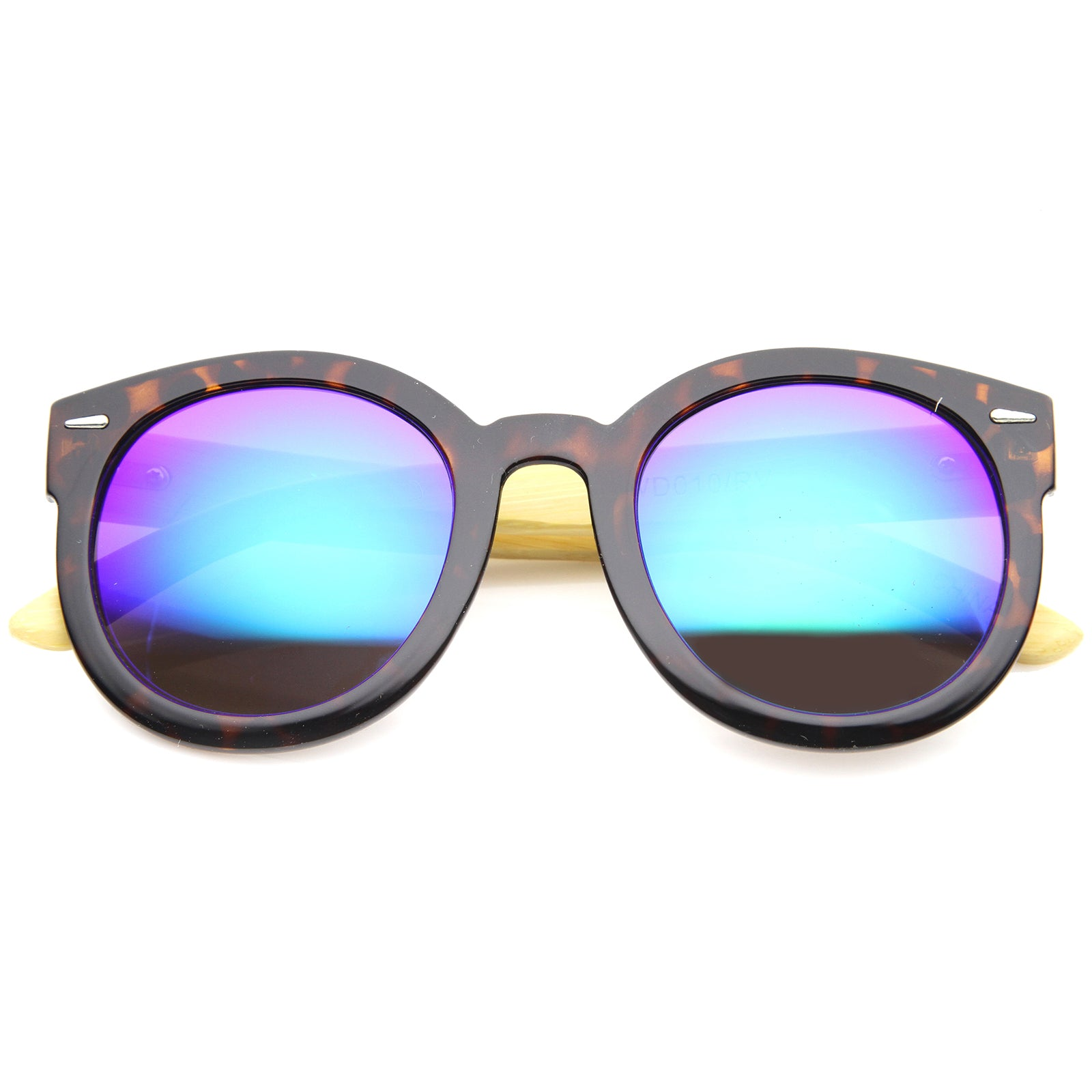 Womens Oversized Sunglasses With UV400 Protected Mirrored Lens - sunglass.la - 13