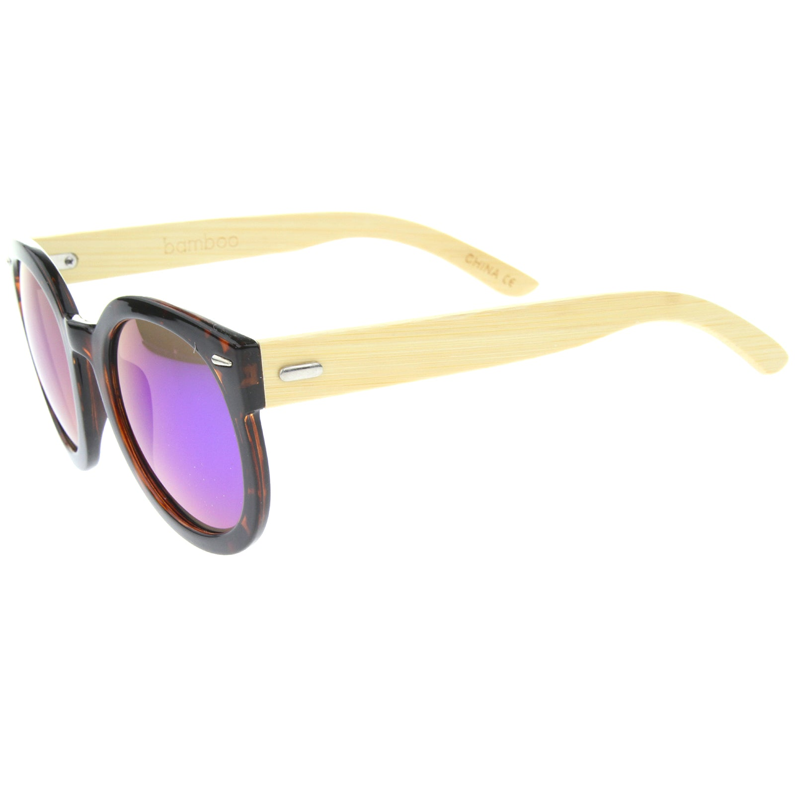 Womens Oversized Sunglasses With UV400 Protected Mirrored Lens - sunglass.la - 15