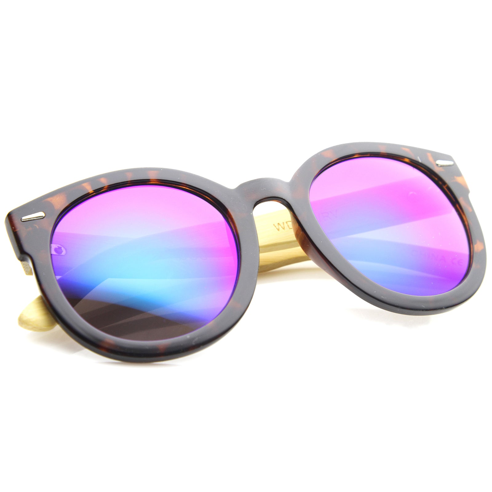 Womens Oversized Sunglasses With UV400 Protected Mirrored Lens - sunglass.la - 16