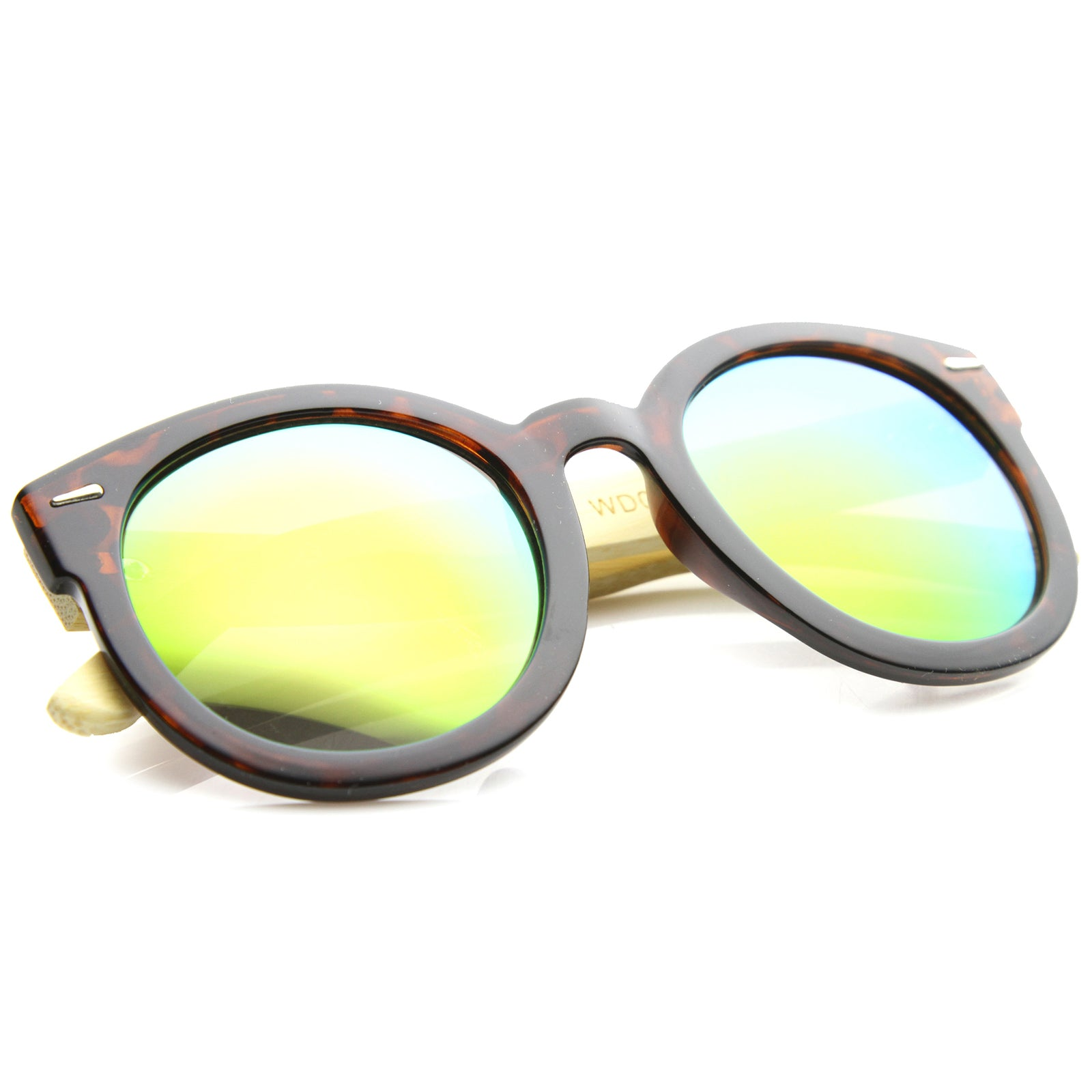 Womens Oversized Sunglasses With UV400 Protected Mirrored Lens - sunglass.la - 20