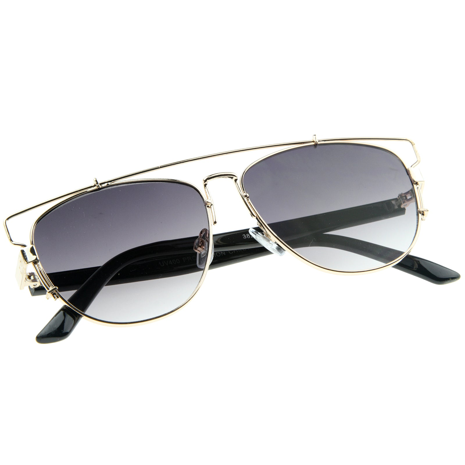 Gold-Black / Lavander Sunglasses