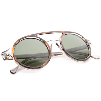 Tortoise Clear-Grey / Green