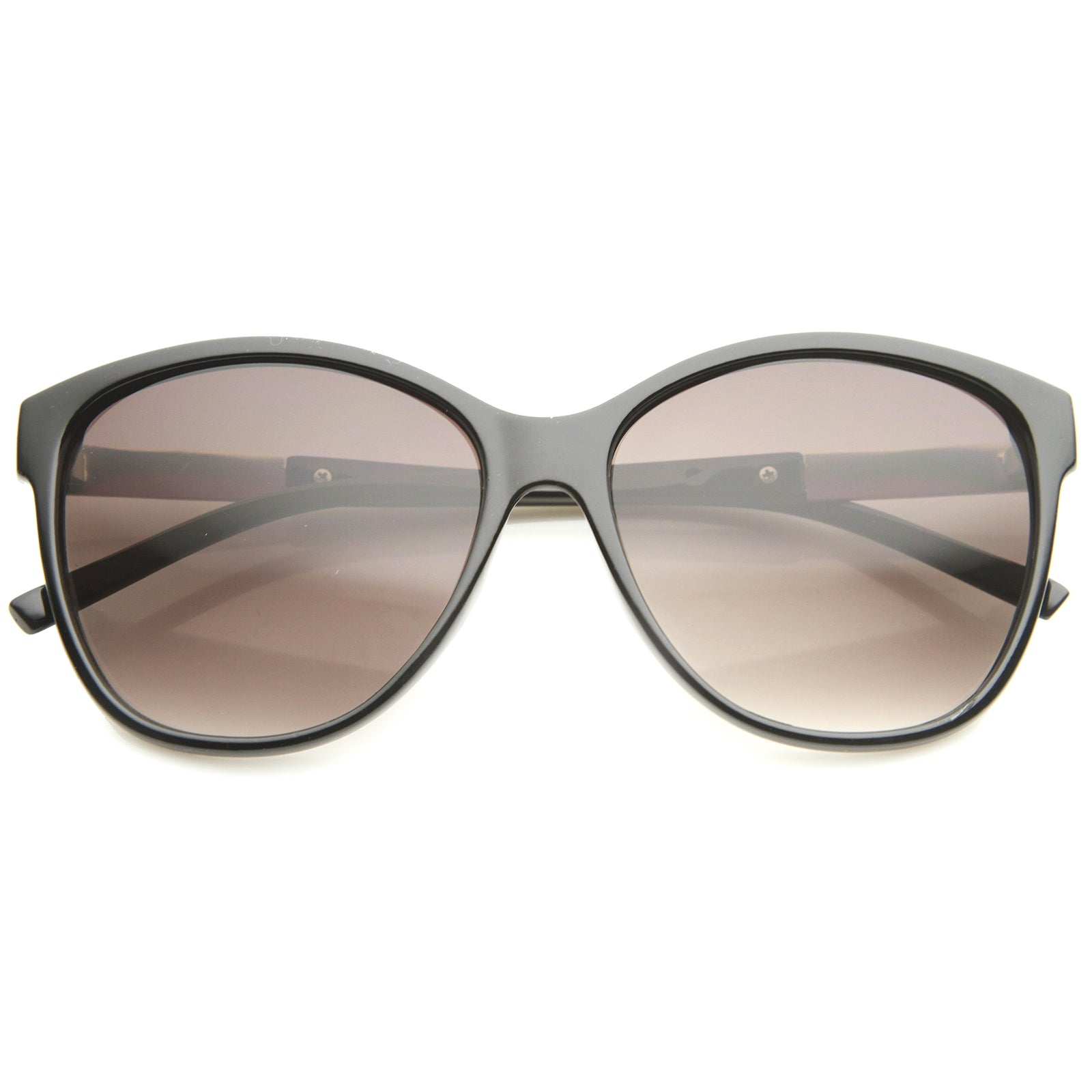 Women's Glam Fashion Metal Temple Oversize Cat Eye Sunglasses 59mm - sunglass.la - 5