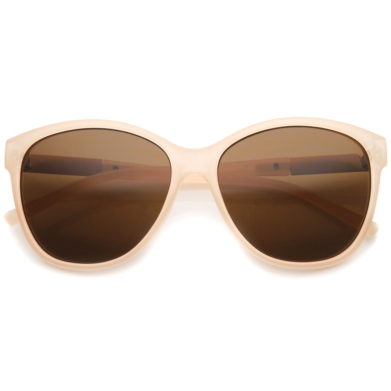 Women's Glam Fashion Metal Temple Oversize Cat Eye Sunglasses 59mm - sunglass.la - 13