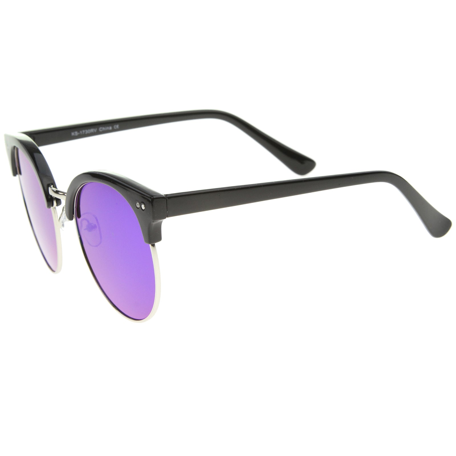 Womens Oversized Sunglasses With UV400 Protected Mirrored Lens - sunglass.la - 7