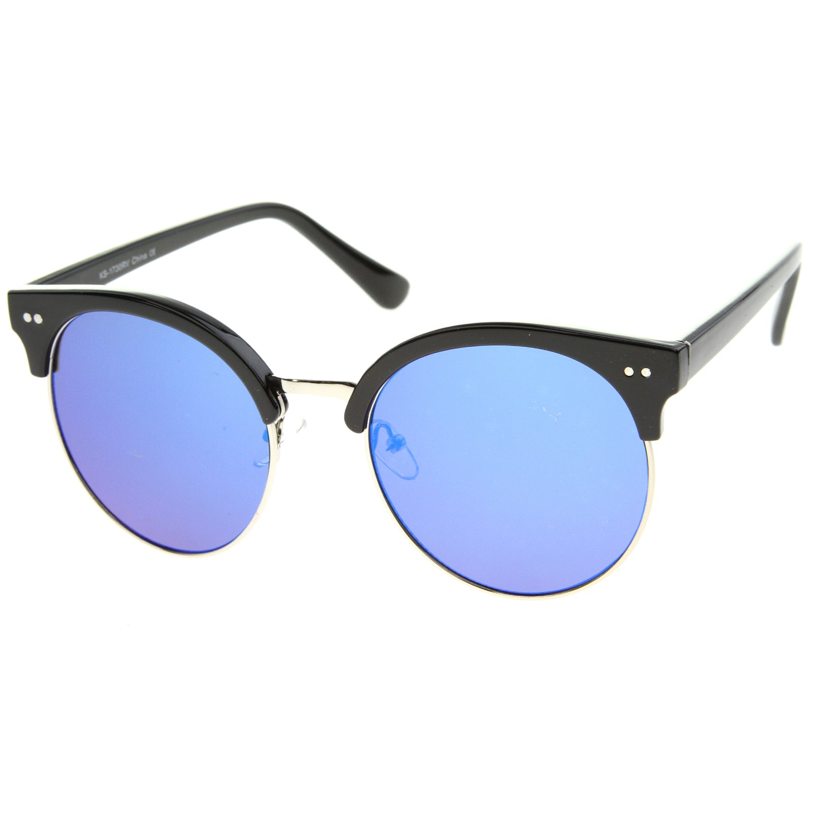 Womens Oversized Sunglasses With UV400 Protected Mirrored Lens - sunglass.la - 10