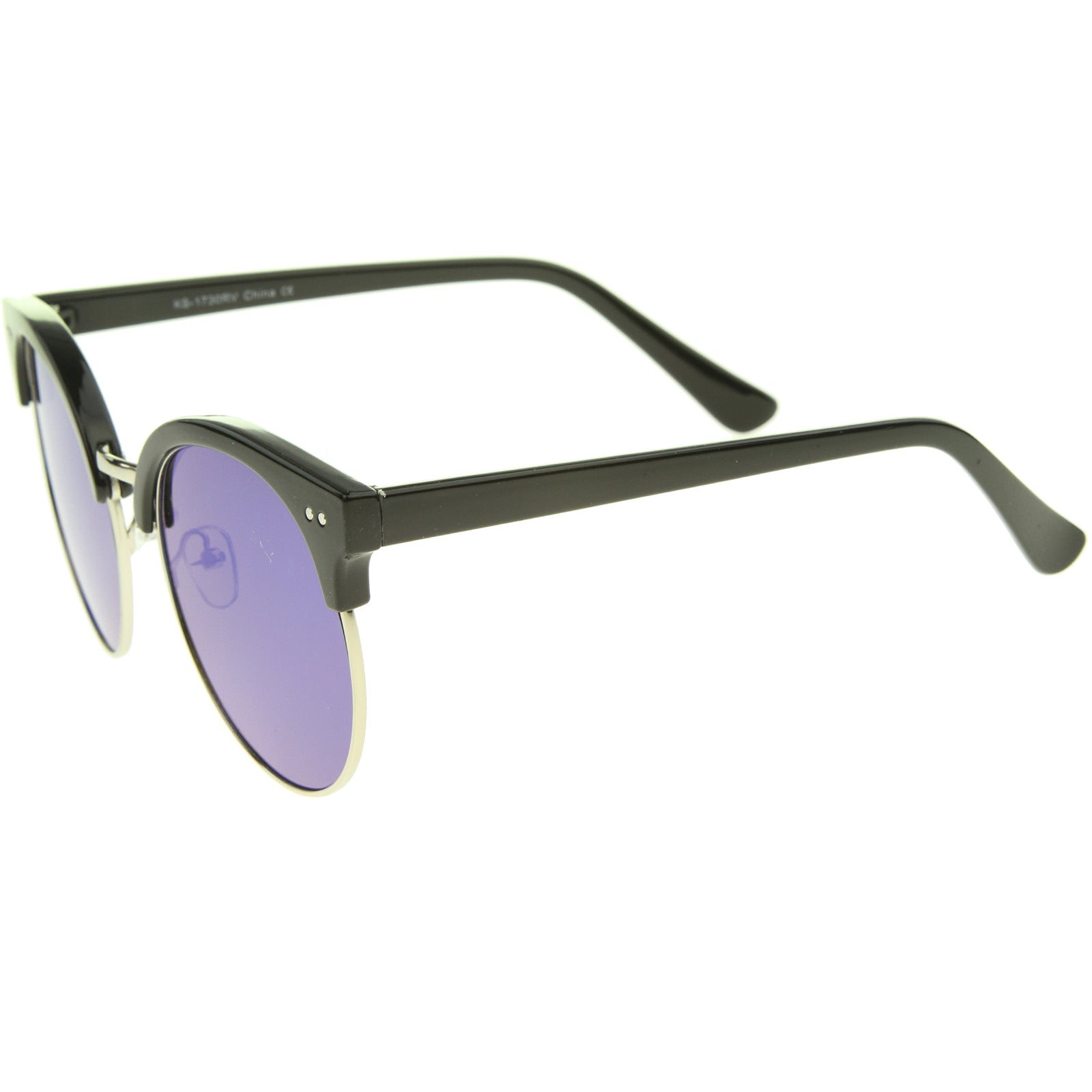 Womens Oversized Sunglasses With UV400 Protected Mirrored Lens - sunglass.la - 11