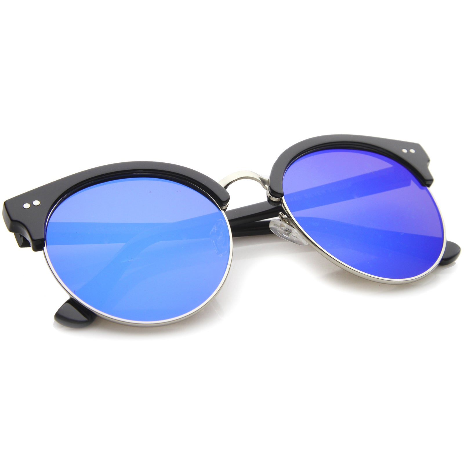 Womens Oversized Sunglasses With UV400 Protected Mirrored Lens - sunglass.la - 12