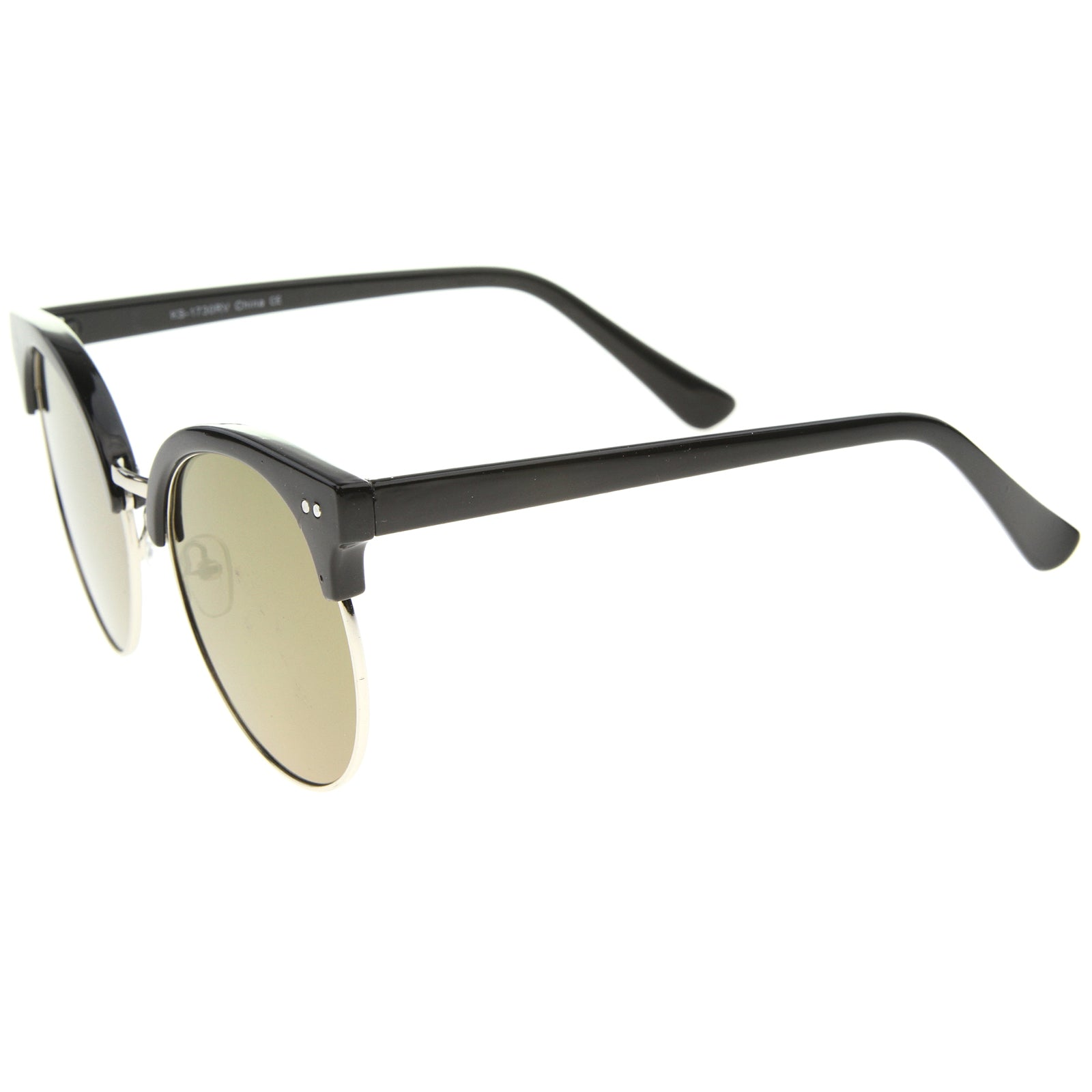 Womens Oversized Sunglasses With UV400 Protected Mirrored Lens - sunglass.la - 19