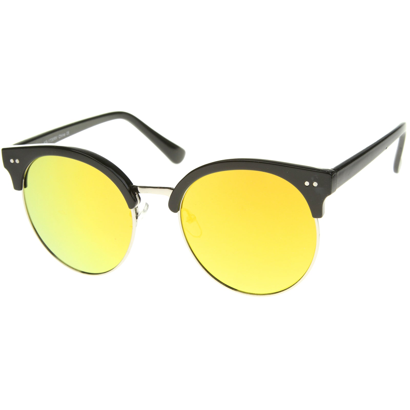 Womens Oversized Sunglasses With UV400 Protected Mirrored Lens - sunglass.la - 22