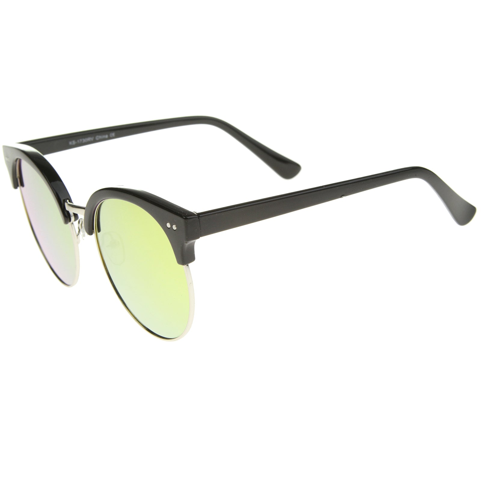 Womens Oversized Sunglasses With UV400 Protected Mirrored Lens - sunglass.la - 23