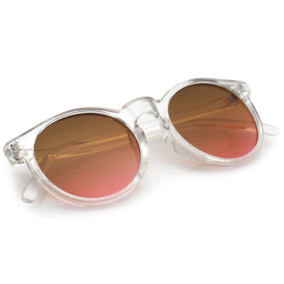 Clear / Pink-Brown
