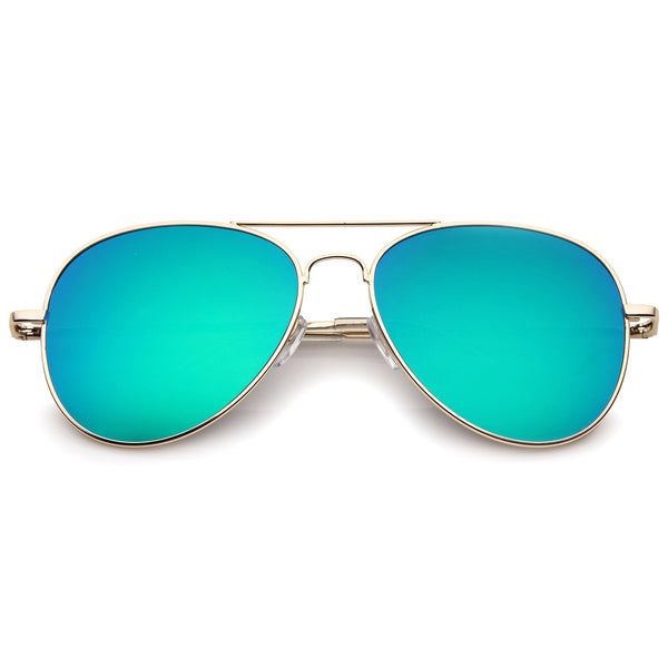 Gold / Green Mirror