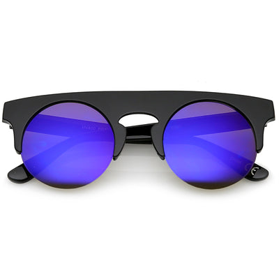 Black / Purple Mirror