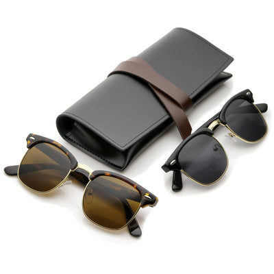 2-Pack | Black/Smoke + Tortoise/Brown