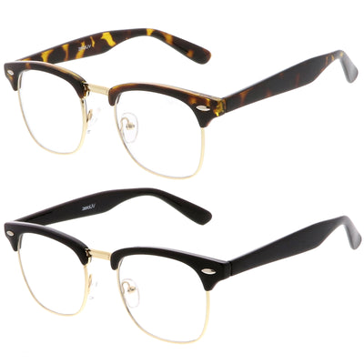 2-Pack | TT-Gld / Clr & Blk-Gld / Clear