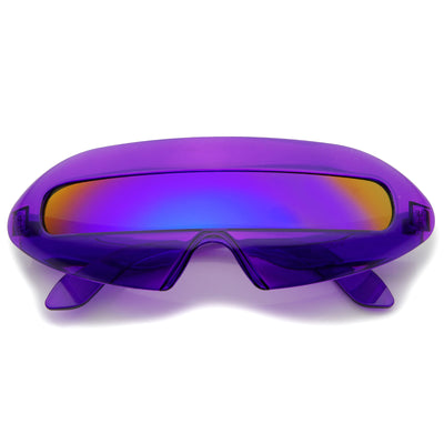 Clear-Purple / Purple Mirror