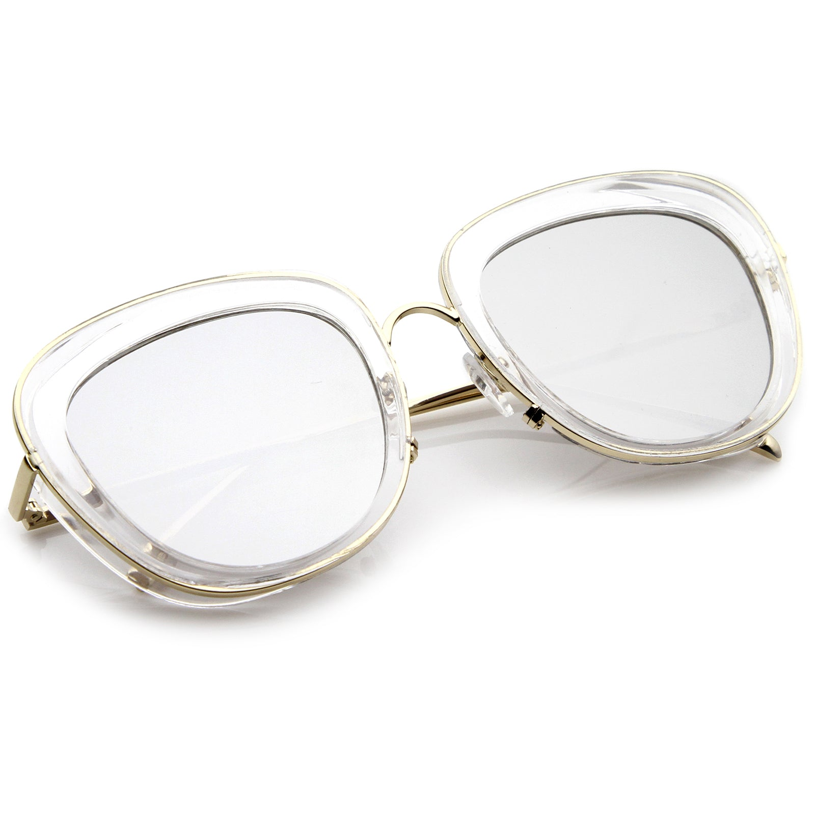 Clear-Gold / Silver Mirror