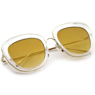 Clear-Gold / Gold Mirror