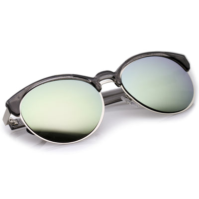 Black-Silver / Green Mirror