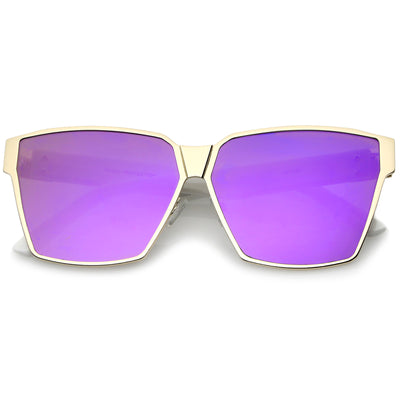 Gold-White / Purple Mirror