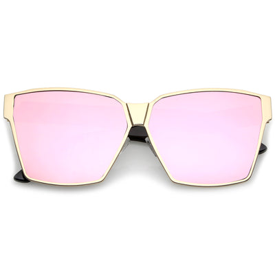 Matte Gold-Black / Pink Mirror