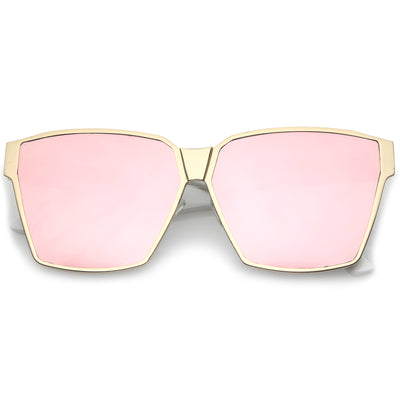 Matte Gold-White / Pink Mirror