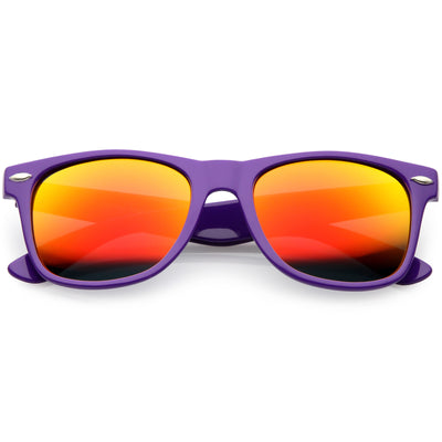 Purple / Orange Mirror