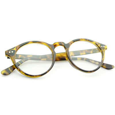 Matte Yellow-Tortoise / Clear