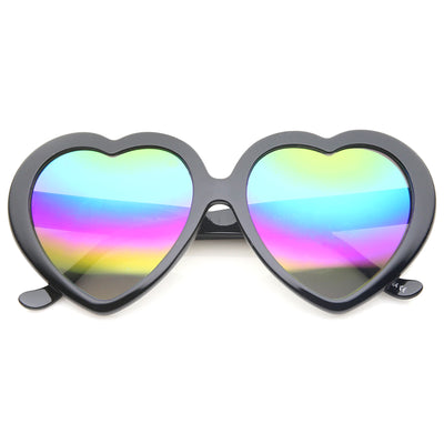 Black / Rainbow Mirror