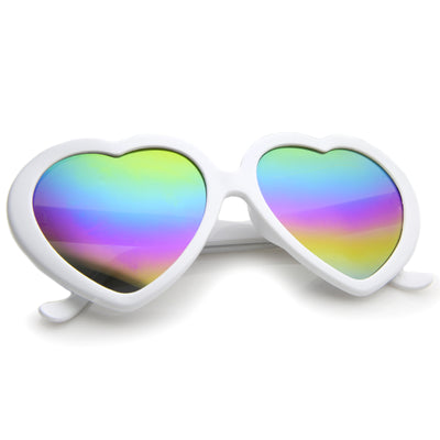 White / Rainbow Mirror