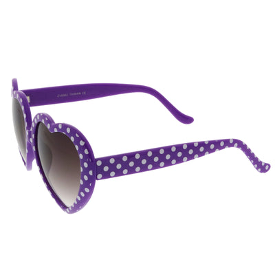 Purple-White Dots / Lavender