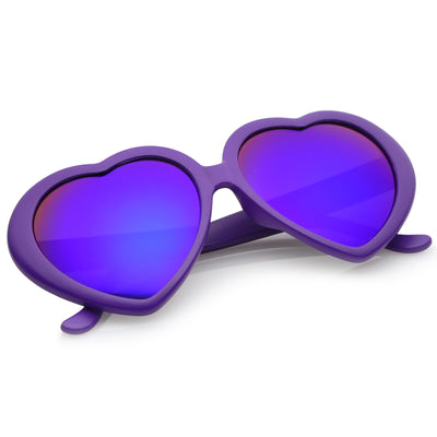 Dark Purple / Blue Mirror