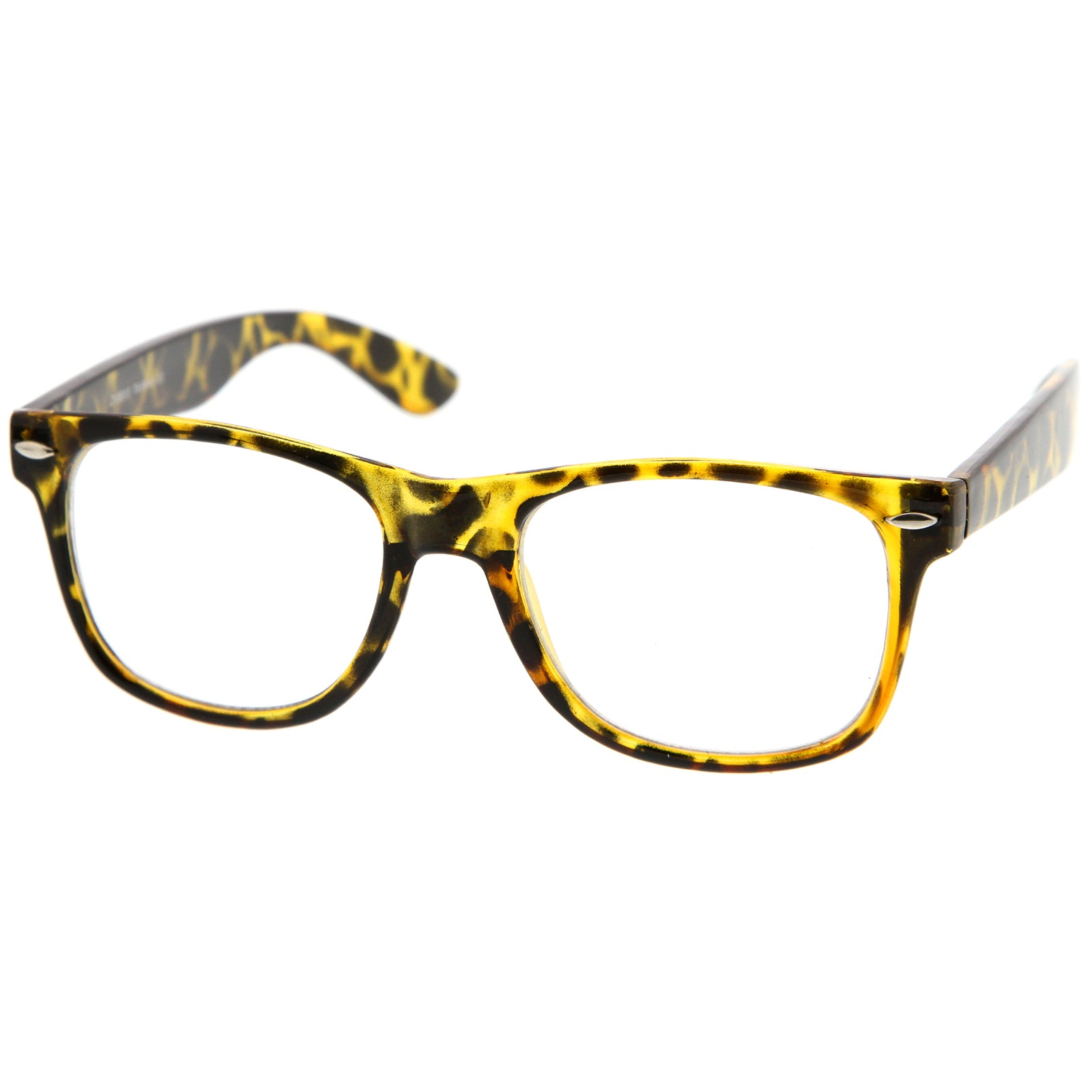 Yellow Tortoise / Clear