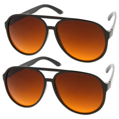 2-Pack | Black/Orange