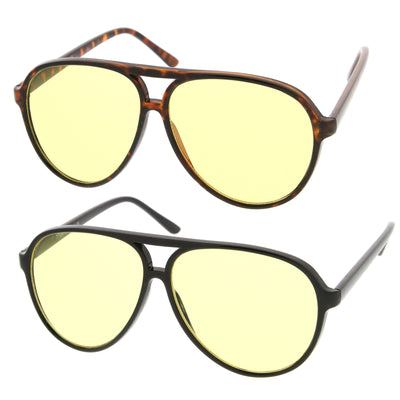 2-Pack | Black/Yellow & Tortoise/Yellow