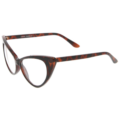 Dark-Brown-Tortoise / Clear