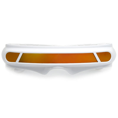 White / Orange Mirror