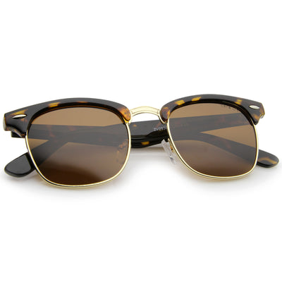 Tortoise-Gold / Brown Polarized