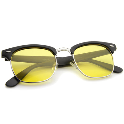 Matte Black-Silver / Yellow Polarized