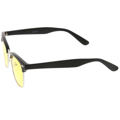 Shiny Black-Silver / Yellow Polarized