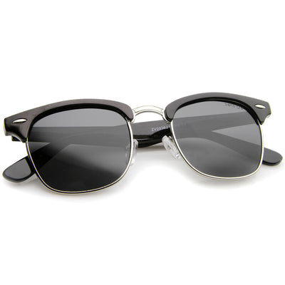 Black-Silver / Smoke Polarized