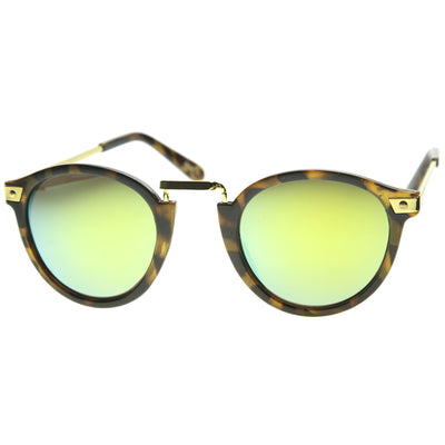 Matte Yellow-Tortoise-Gold / Yellow Mirror